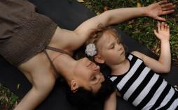 YOGA батьки і діти на природі 2015